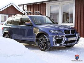 Spy Photos: Facelift pro BMW X5, nové X5 M a X6 Hybrid - odpočítávání jde do finále