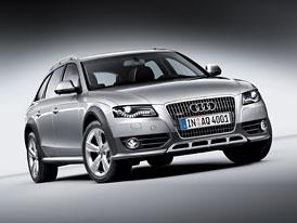 Audi A4 allroad quattro: Oficiální fotografie a kompletní technická data