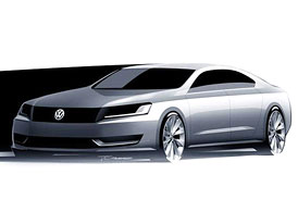 Volkswagen NMS: Passat pro Ameriku a Čínu