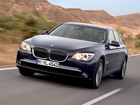Český trh v lednu 2009: BMW řady 7 králem mezi luxusními vozy