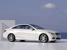 Mercedes-Benz třída E Coupe: Už žádné CLK (oficiální fotografie a technické údaje) + plakáty