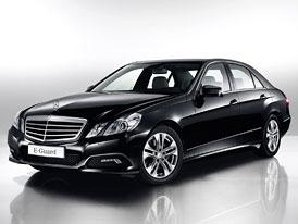 Mercedes-Benz E-Guard: Neprůstřelný sedan