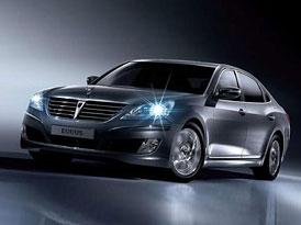 Hyundai vstoup� mezi automobilovou elitu p��t� rok v USA s limuz�nou Equus