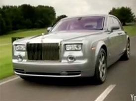 Video: Rolls-Royce Phantom: Modelový rok 2009 v pohybu
