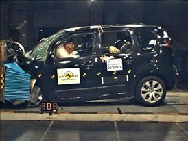 Euro NCAP 2009: Citroën C3 Picasso – kvůli chybějící stabilizaci čtyři hvězdy