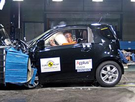 Euro NCAP 2009: Toyota iQ - tři metry délky a pět hvězd bezpečnosti