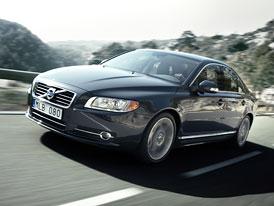 Volvo S80: Facelift, sportovní podvozek a nové pětiválcové motory