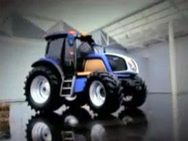 Video: New Holland NH2 – Elektřinou poháněný traktor
