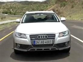 Video: Audi A4 allroad quattro – Novinka na asfalt i mimo něj
