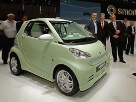 Autosalon Ženeva: Brabus Smart ForTwo Electric Drive – Stylově a elektricky