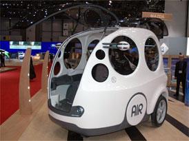 Autosalon Ženeva: MDI AirPod - Sen o autě na vzduch se zatím nerozplynul