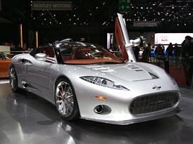 Autosalon Ženeva: Spyker C8 Aileron – Sériová verze se představuje
