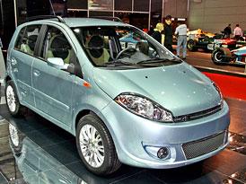 Autosalon Ženeva: Čínská auta v Itálii prodává dovozce pod značkou DR Motor Company