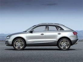 Audi Q3: Malé SUV přijde v roce 2011 (+ výsledky za rok 2008)