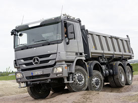 Nejprodávanější Mercedes-Benz na českém trhu: Opět nákladní Actros