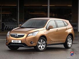 Spy Photos: Opel připravuje nové malé SUV