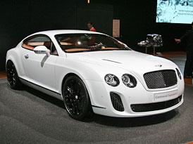 Autosalon �eneva: Bentley Continental Supersports je nejrychlej�� Bentley v�ech dob