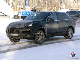 Spy Photos: Nové Porsche Cayenne jako hybrid a diesel (nové foto)