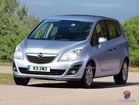 Spy Photos: Nový Opel Meriva se představí ve Frankfurtu