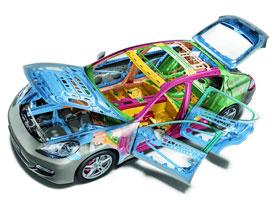 Porsche Panamera: Technika nového liftbacku podrobněji