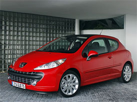 Prodej v Evropě za rok 2008: Třídu malých vozů vede Peugeot