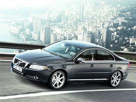 Volvo: Velké modely S80 a V70 nyní se spotřebou 4,5 l/100 km