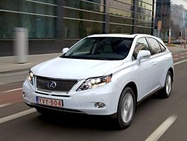 Lexus RX 270: Japonské SUV dostalo čtyřválec