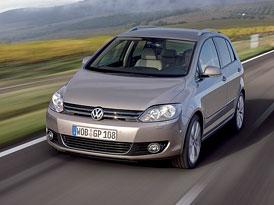 Volkswagen Golf Plus na českém trhu: Modernizované provedení začíná na 379.900,- Kč