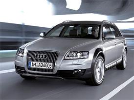 �esk� trh v kv�tnu 2009: Vy��� st�edn� t��d� vl�dnou n�meck� vozy, za nimi Volvo
