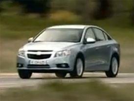 Video: Chevrolet Cruze – Nový  sedan míří do Evropy