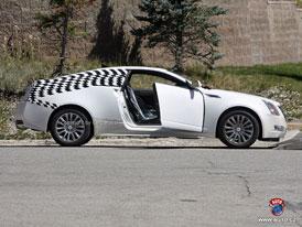 Spy Photos: Cadillac CTS Coupé - Start hranatého kupé se odsouvá