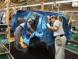 TPCA od října zvolní tempo, letos vyrobí o 30.000 vozů méně