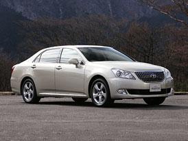 Toyota Crown Majesta: Vlajková loď pro japonské topmanažery