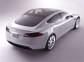 Tesla Model S: První informace a fotografie