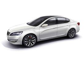 Kia VG Concept: Čtyřdveřový sedan pro autosalon v Soulu