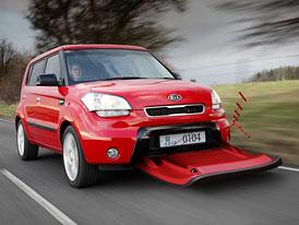 Kia AeroSoul: Aerodynamické prvky se brzy stanou důležitým faktorem dynamiky vozidel