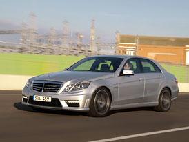 Mercedes-Benz E 63 AMG: První oficiální informace a fotografie