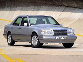 Mercedes-Benz E: Historie hvězdy vyšší střední třídy na www.auto.cz (250 fotografií)