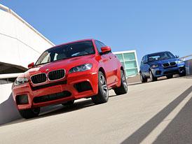 BMW X5 M a BMW X6 M: Mnichovská M&M's dostala osmiválec 4,4 TwinTurbo (408 kW, 680 Nm)