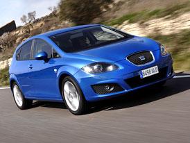 SEAT Leon 2009 na českém trhu: Standardem je 6 airbagů a ESP, ceny začínají na 324.900,-Kč