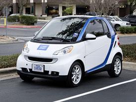 Smart car2go: Veřejná půjčovna aut s plným servisem v ceně již funguje v Ulmu, chystá se do Austinu