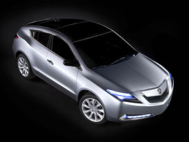 Acura ZDX Concept: Honda staví konkurenta pro BMW X6