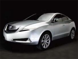 Video: Acura ZDX Concept – Další SUV se splývavou zádí