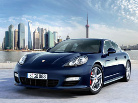 Porsche představí nový model Panamera za několik dní v Číně