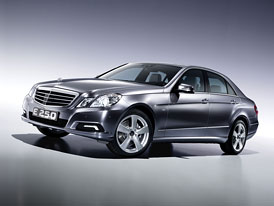 Mercedes-Benz E 250 BlueTec: Euro 6 také pro čtyřválcový biturbodiesel