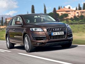 Audi Q7: Umírněný facelift a nižší spotřeba