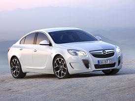 Opel Insignia OPC: Ostrá verze evropského Automobilu roku