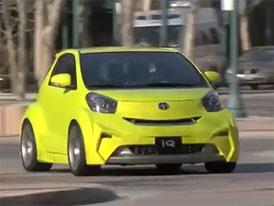 Video: Scion iQ Concept – Stylový malý automobil pro USA