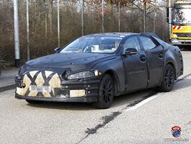 Spy Photos: Jaguar XJ – osmá generace půjde ve stopách XF (nové foto)