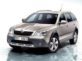 Škoda Octavia Scout se spotřebou 2,217 l/100 km